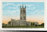 Graduate College and Cleveland Memorial Tower, Princeton University, Princeton, New Jersey, 1915-1930