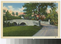 Burnside Bridge, Antietam Battlefield, Sharpsburg, Maryland, circa 1930-1944