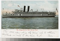 Jersey Central Flyer steamboat, Sandy Hook, New Jersey, 1901-1905
