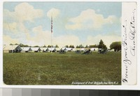Encampment of the Second Brigade, Sea Girt, New Jersey, 1901-1905