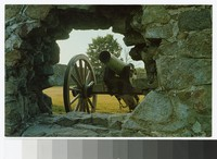 Cannon, Fort Frederick State Park, Washington County, Maryland, circa 1961-1990