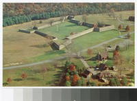 Aerial view of Fort Frederick, Washington County, Maryland, circa 1941-1970