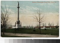Soldiers' Monument, York, Pennsylvania, 1907-1914