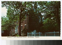 Robert E. Lee's boyhood home, Alexandria, Virginia, circa 1967-1969