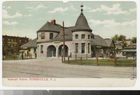 Railroad Station, Somerville, New Jersey, 1901-1906