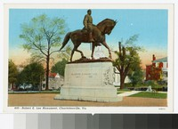 Robert E. Lee Monument, Charlottesville, Virginia, circa 1930-1944