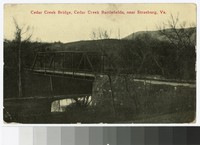 Cedar Creek Bridge, Cedar Creek Battlefields, near Strasburg, Virginia, circa 1907-1913