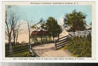 McConkey's homestead, Washington's Crossing, New Jersey, 1915-1930