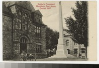 Soldier's Monument, Woodbury, New Jersey, 1907-1910