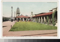 Sante Fe Station and Alvarado Hotel, Albuquerque, New Mexico, 1907-1914