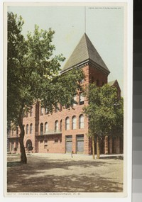 Commercial Club, Albuquerque, New Mexico, 1907-1914