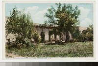 Adobe residence, Old Town, Albuquerque, New Mexico, 1908-1914