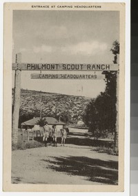 Boy Scouts and camping headquarters, Philmont Scout Ranch, Cimarron, New Mexico, 1941-1946