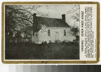 Seven Pines House at Seven Pines Battlefield, Henrico County, Virginia, circa 1907-1914