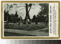 Seven Pines National Cemetery at Seven Pines Battlefield, Henrico County, Virginia, circa 1907-1914