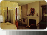 Bedroom in Stonewall Jackson House, Lexington, Virginia, circa 1954-1978