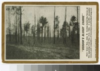 "Location of ""Gordon's bloody charge,"" Seven Pines Battlefield, Henrico County, Virginia, circa 1907-1914"