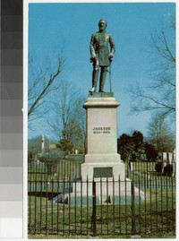 Stonewall Jackson's tomb, Lexington, Virginia, circa 1951-1960