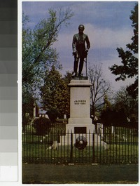 Tomb of Stonewall Jackson, Lexington, Virginia, circa 1951-1980