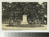 Tomb of Stonewall Jackson, Lexington, Virginia, circa 1915-1930