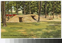 Entrance to Confederate and Federal tunnels at Petersburg National Battlefield, Petersburg, Virginia, circa 1930-1944