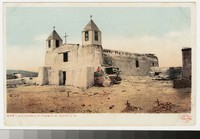 San Augustin de la Isleta Church, Isleta Pueblo, New Mexico, 1901-1906