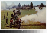 Reenactment of the Battle of First Manassas, Manassas, Virginia, circa 1961-1980