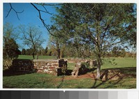 Ruins of the Chinn House, Manassas National Battlefield Park, Manassas, Virginia, circa 1951-1980