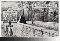 Old Stone Bridge, Manassas, Virginia, circa 1945-1960
