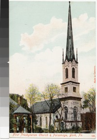 First Presbyterian Church and Parsonage, York, Pennsylvania, 1907-1914