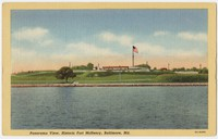 Panoramic view of Fort McHenry, Baltimore, Maryland, 1930-1944