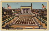 War Memorial Building and Plaza, Baltimore, Maryland, 1930-1944