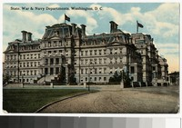 State, War and Navy Departments, Washington D.C., 1907-1914