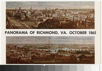 Panorama after capture by Federal troops, Richmond, Virginia, circa 1907-1914