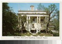 White House of the Confederacy, Richmond, Virginia, circa 1951-1970