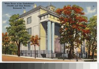 White House of the Confederacy, Twelth and Clay Streets, Richmond, Virginia, circa 1930-1944
