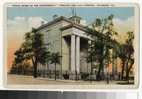 White House of the Confederacy, Twelfth and Clay Streets, Richmond, Virginia, circa 1915-1930