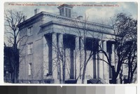 White House of the Confederacy, former residence of Jefferson Davis, now Confederate Museum, Richmond, Virgina, circa 1907
