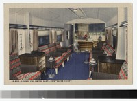 "Lounge Car on the Santa Fe's ""Super Chief"", 1931-1944"