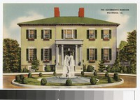 Governor's Mansion, Richmond, Virginia, circa 1930-1944