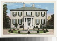 Governor's Mansion, Richmond, Virginia, circa 1915-1930