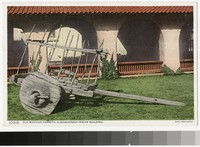Old cart, Indian Building, Albuquerque, New Mexico, 1915-1930