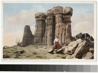 Geological formations near Gallup, New Mexico, 1915-1930
