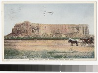 Mesa Encantada, the Enchanted Mesa, New Mexico, 1915-1930