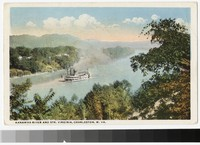 Kanawha River, Charleston, West Virginia, 1915-1930