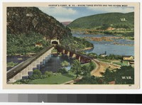 Potomac and Shenandoah Rivers, Harper's Ferry, West Virginia, 1930-1944