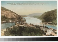 Junction of the Potomac and Shenandoah Rivers, Harper's Ferry, West Virginia, 1907-1914
