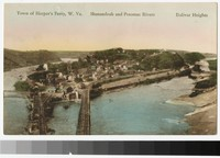 Shenandoah and Potomac Rivers, Harper's Ferry, West Virginia, 1907-1914