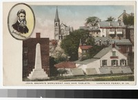 John Brown's Monument and War Tablets, Harper's Ferry, West Virginia, 1907-1914