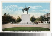 Jackson Monument, Boulevard and Monument Avenues, Richond, Virginia, circa 1915-1930